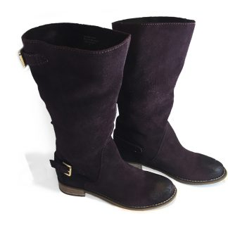 Women's Leather Suede Boot – My U.S